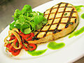 Swordfish steak